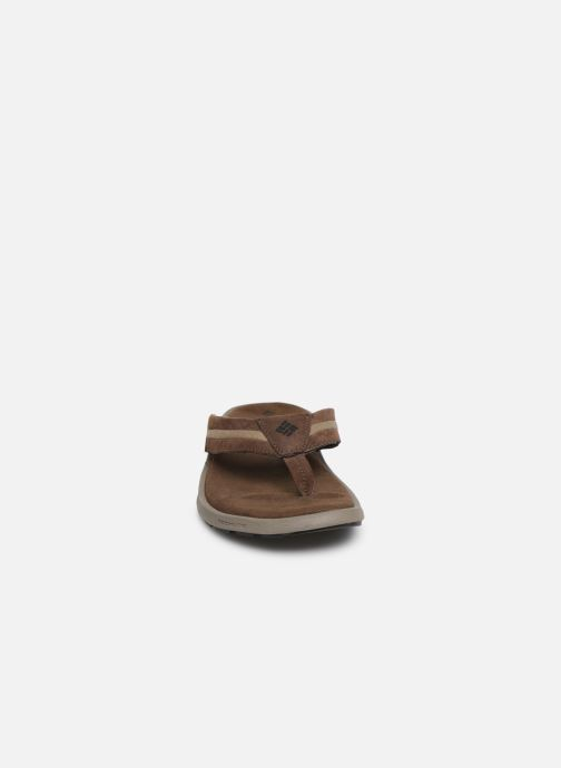 Tongs Columbia Verona™ Marron vue portées chaussures