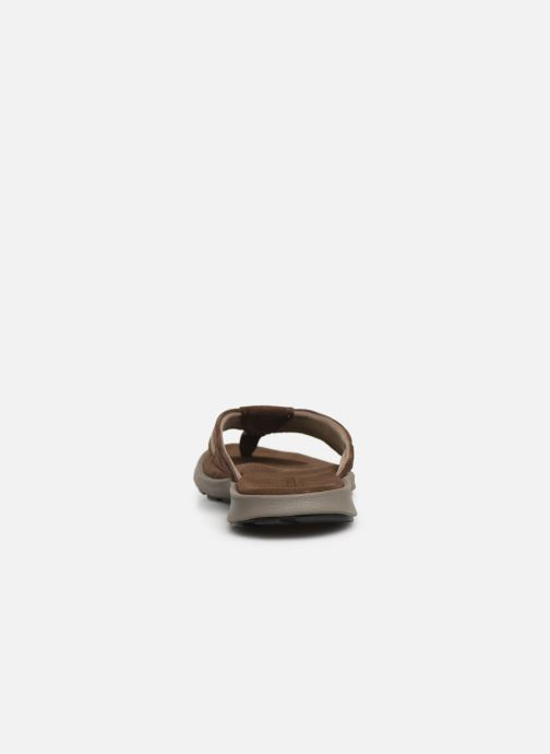 Chanclas Columbia Verona™ Marrón vista lateral derecha
