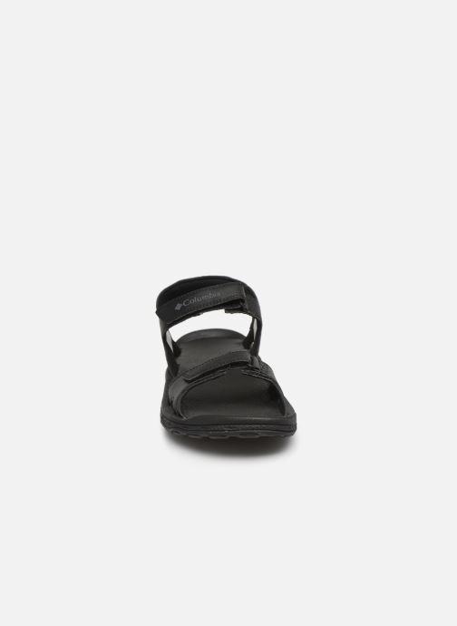 Sandalen Columbia Buxton™ 2 Strap schwarz schuhe getragen