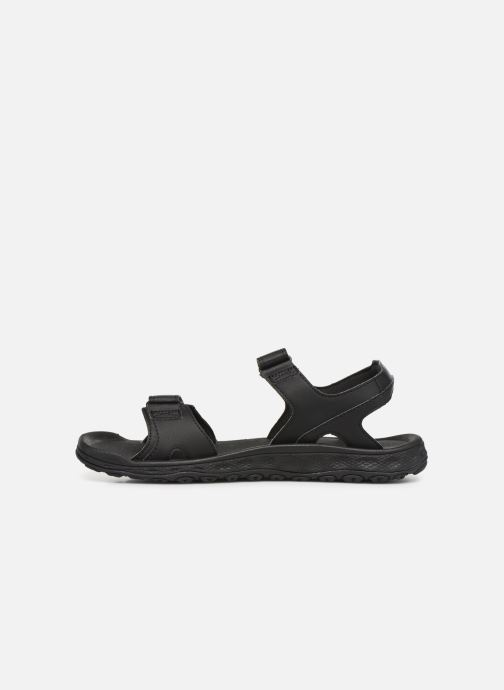 Sandalen Columbia Buxton™ 2 Strap schwarz ansicht von vorne