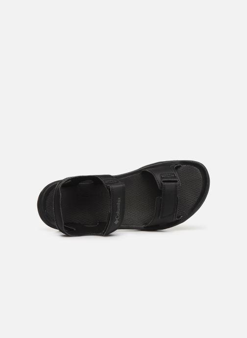 Sandales et nu-pieds Columbia Buxton™ 2 Strap Noir vue gauche