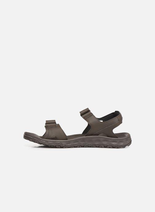 Sandalen Columbia Buxton™ 2 Strap braun ansicht von vorne