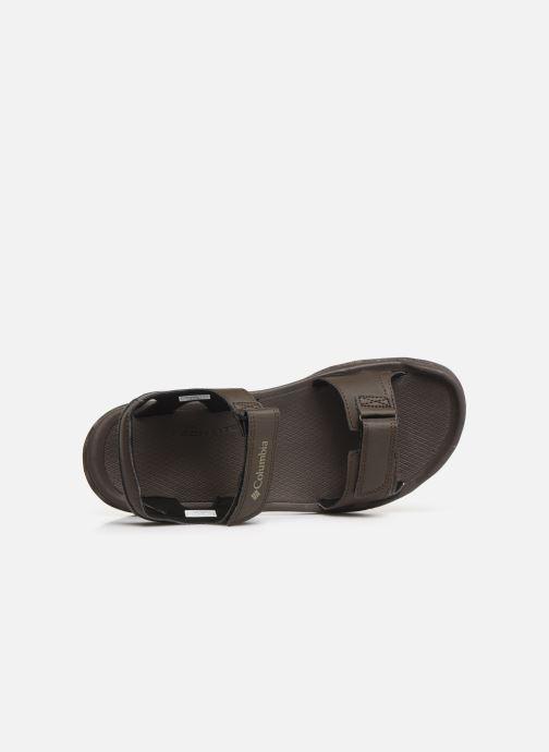 Sandalen Columbia Buxton™ 2 Strap braun ansicht von links