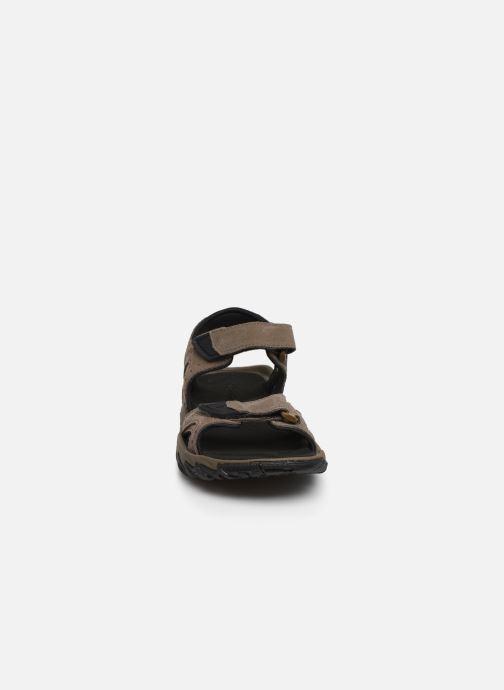 Sandali e scarpe aperte Columbia Santiam™ 2 Strap Marrone modello indossato