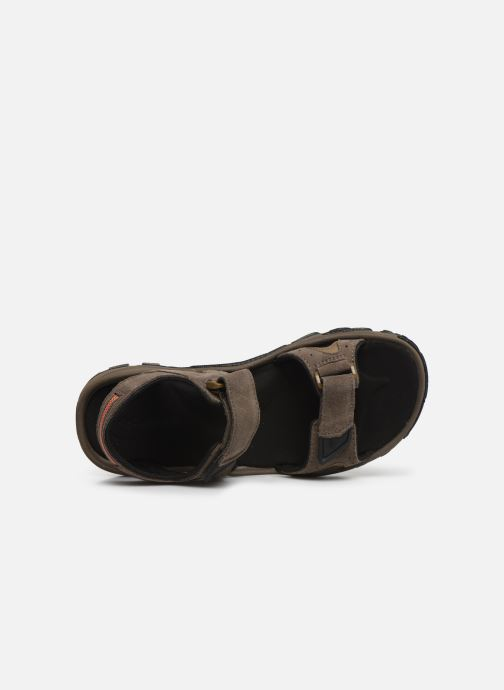 Sandals Columbia Santiam™ 2 Strap Brown view from the left