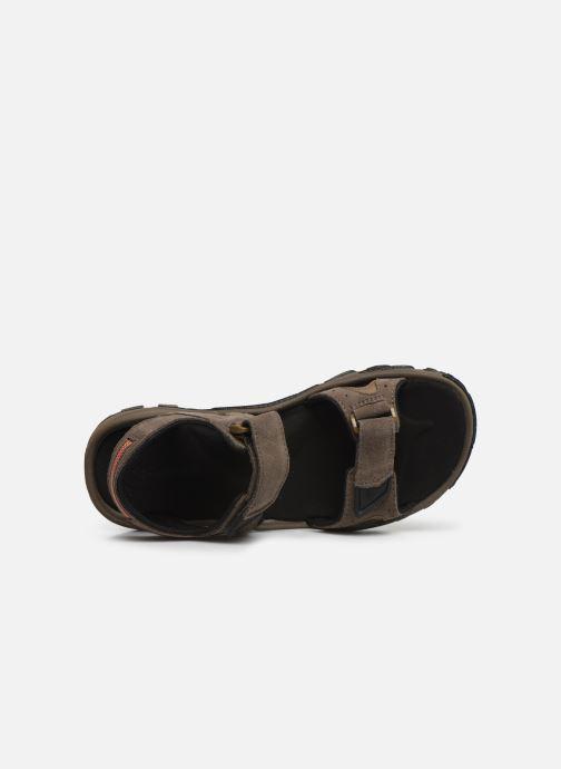 Sandales et nu-pieds Columbia Santiam™ 2 Strap Marron vue gauche