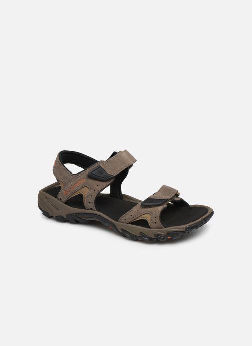 Sandales et nu-pieds Columbia Santiam™ 2 Strap Marron vue détail/paire