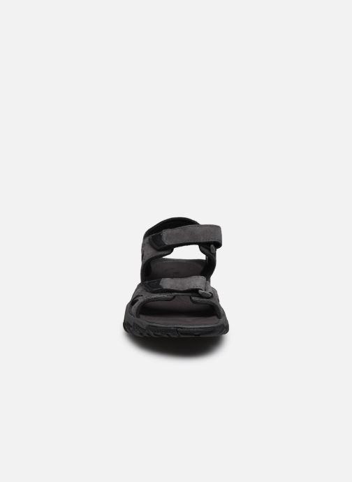 Sandalen Columbia Santiam™ 2 Strap grau schuhe getragen