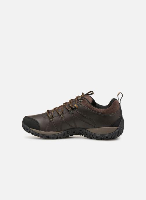 Chaussures de sport Columbia Peakfreak Venture Waterproof Marron vue face