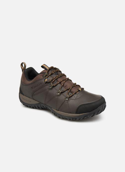 Chaussures de sport Columbia Peakfreak Venture Waterproof Marron vue détail/paire