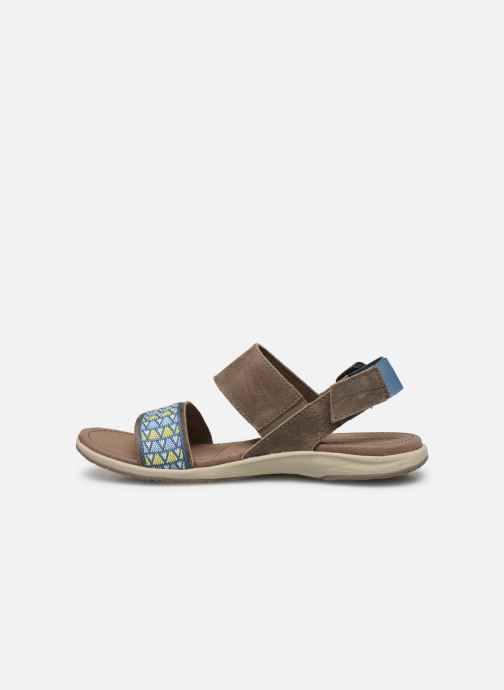 Sandali e scarpe aperte Columbia Solana™ Marrone immagine frontale