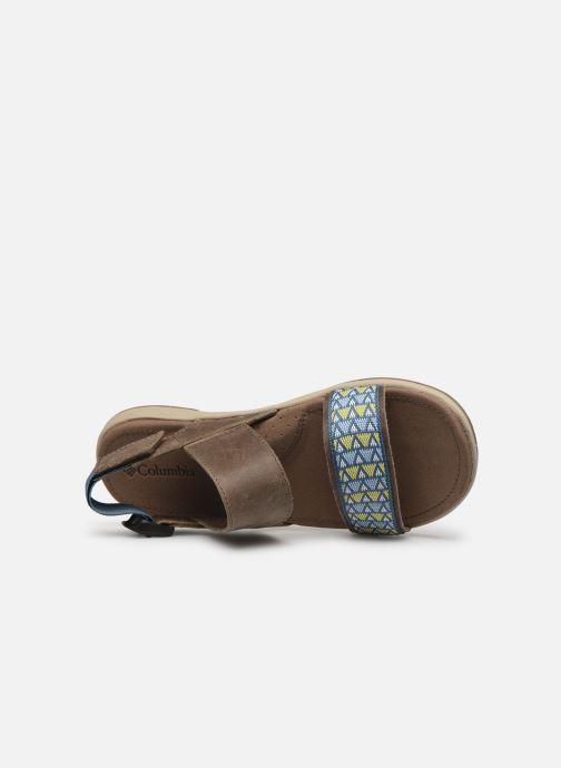 Sandali e scarpe aperte Columbia Solana™ Marrone immagine sinistra