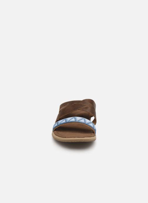 Mules et sabots Columbia Solana™ Slide Marron vue portées chaussures