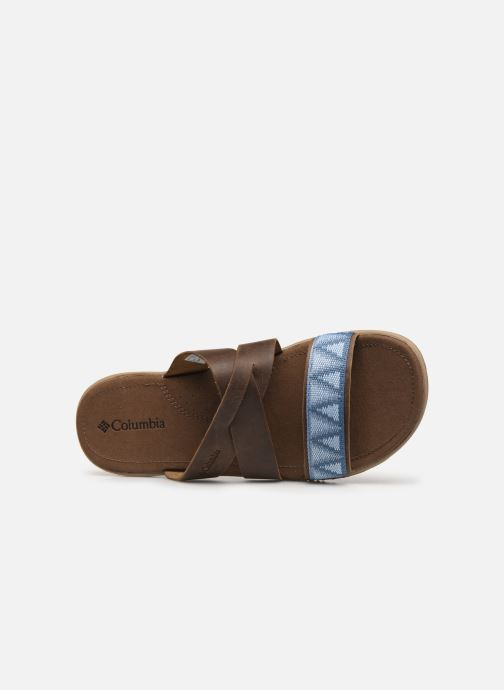 Mules & clogs Columbia Solana™ Slide Brown view from the left