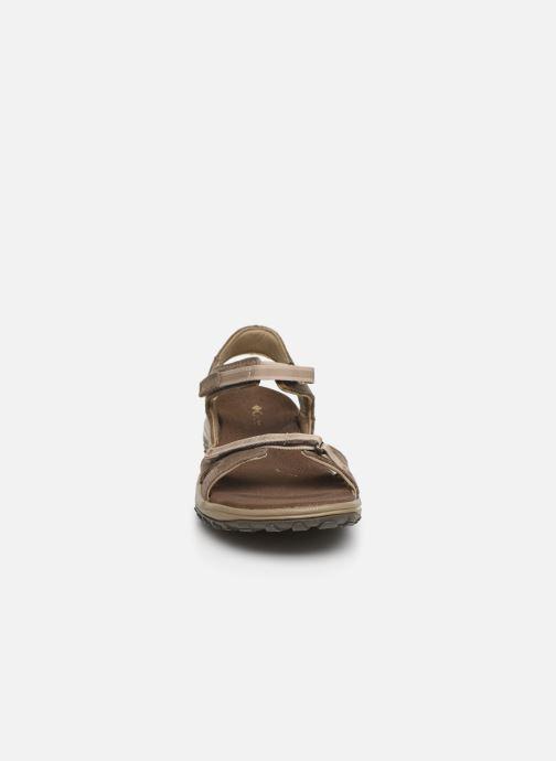 Sandales et nu-pieds Columbia Santiam™ Marron vue portées chaussures