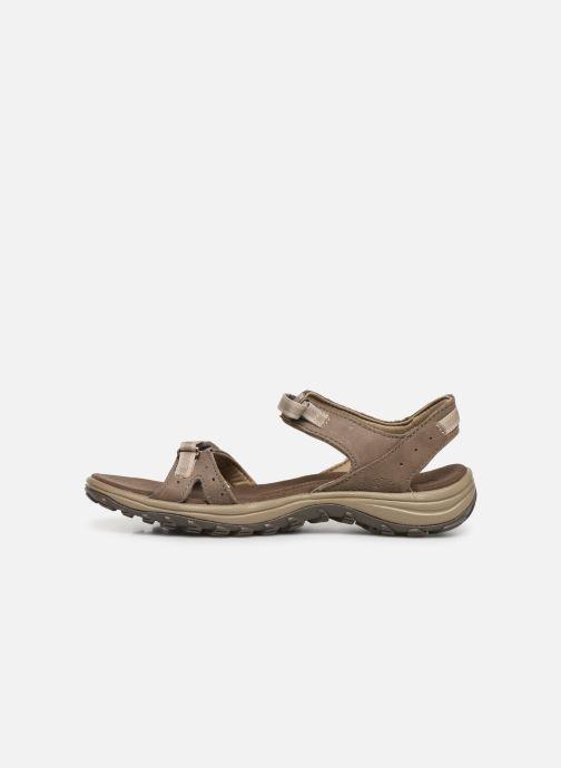 Sandales et nu-pieds Columbia Santiam™ Marron vue face