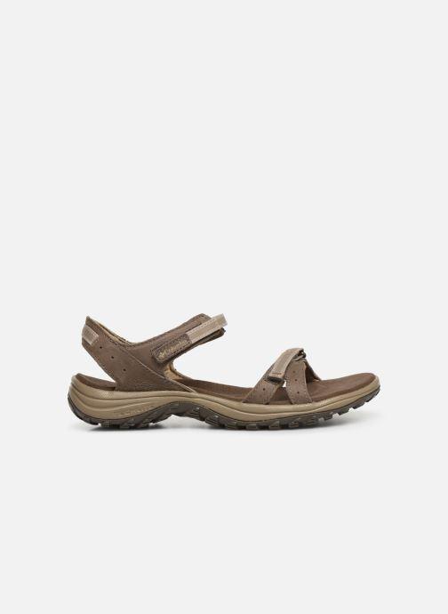 Sandales et nu-pieds Columbia Santiam™ Marron vue derrière
