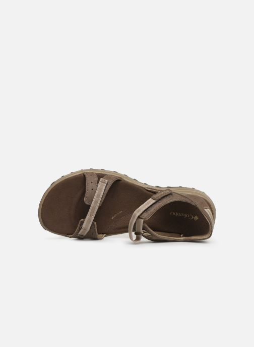 Sandales et nu-pieds Columbia Santiam™ Marron vue gauche