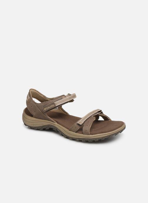 Sandales et nu-pieds Columbia Santiam™ Marron vue détail/paire