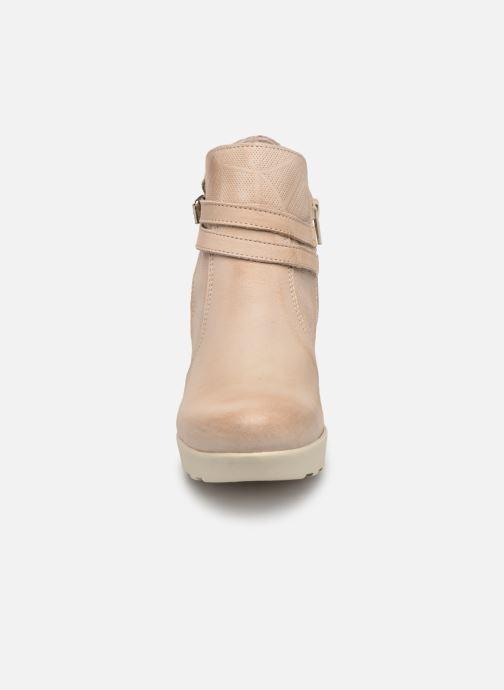 Bottines et boots Sweet Lemon L.23.RARISS Beige vue portées chaussures