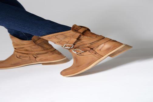 Stiefeletten & Boots Sweet Lemon L.23.RASPO braun ansicht von unten / tasche getragen