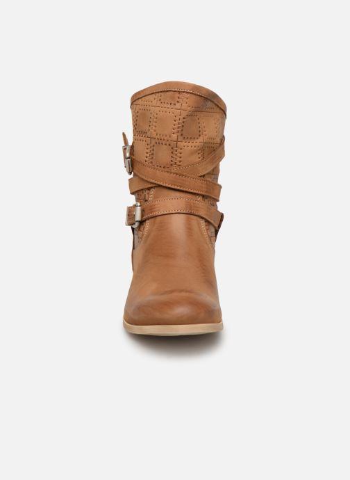 Bottines et boots Sweet Lemon L.23.RASPO Marron vue portées chaussures