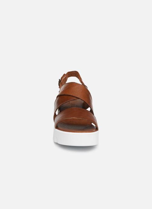 Sandales et nu-pieds Sweet Lemon L.16.SACOH Marron vue portées chaussures