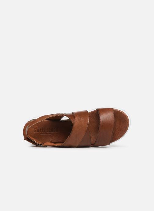 Sandales et nu-pieds Sweet Lemon L.16.SACOH Marron vue gauche