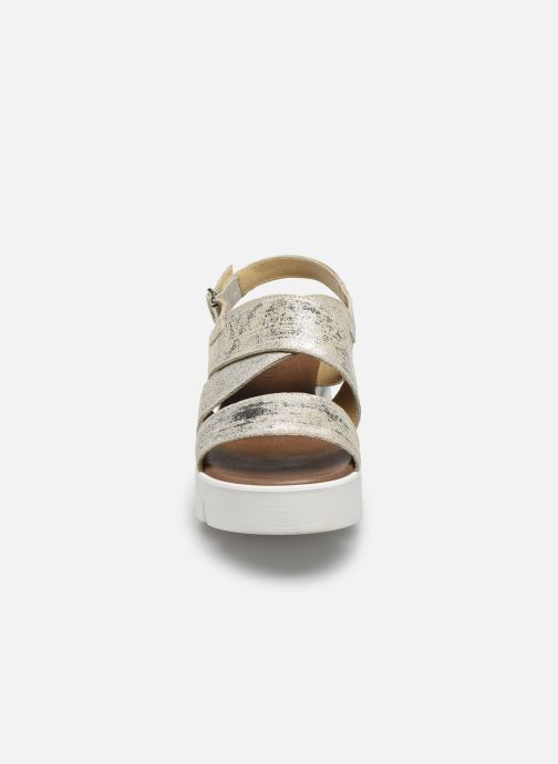 Sandales et nu-pieds Sweet Lemon L.16.SACOH Or et bronze vue portées chaussures