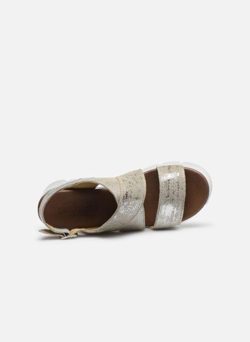 Sandales et nu-pieds Sweet Lemon L.16.SACOH Or et bronze vue gauche