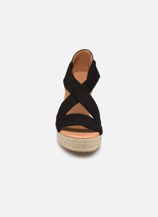 Espadrilles Sweet Lemon L.54.DIMA Noir vue portées chaussures