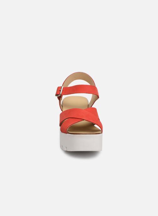 Sandales et nu-pieds Sweet Lemon L.16.SUMY Rouge vue portées chaussures