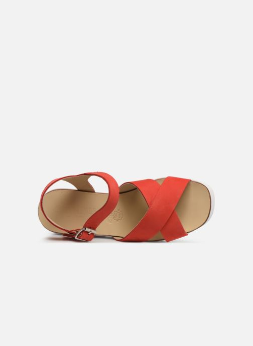 Sandales et nu-pieds Sweet Lemon L.16.SUMY Rouge vue gauche