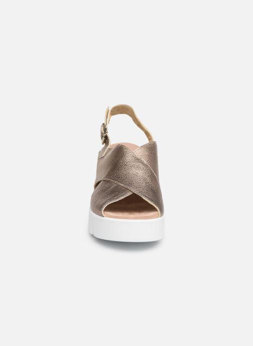 Sandales et nu-pieds Sweet Lemon L.16.SWAP Or et bronze vue portées chaussures