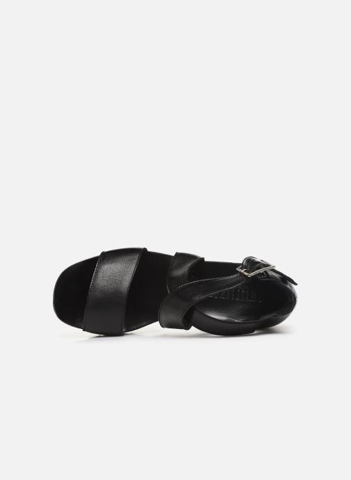 Sandales et nu-pieds Sweet Lemon L.16.SUBWAY Noir vue gauche