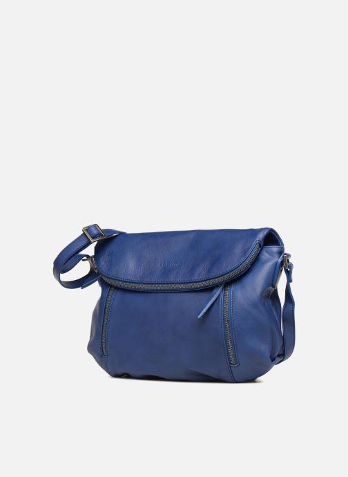 Handtaschen Sabrina Cassiopée blau schuhe getragen