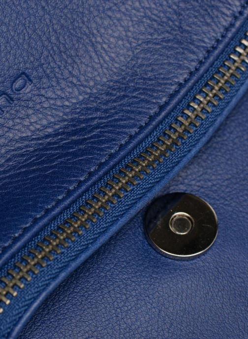 Handtaschen Sabrina Cassiopée blau ansicht von links