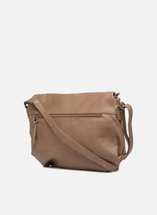Handbags Sabrina Cassiopée Beige view from the right