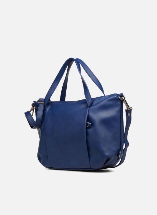 Handtaschen Sabrina Blandine blau schuhe getragen