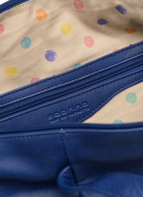 Handtaschen Sabrina Blandine blau ansicht von hinten