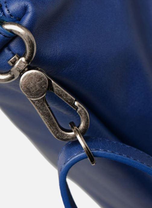 Handtaschen Sabrina Blandine blau ansicht von links