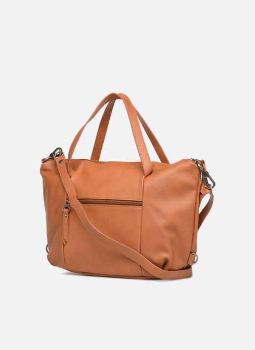 Handtaschen Sabrina Blandine braun ansicht von rechts