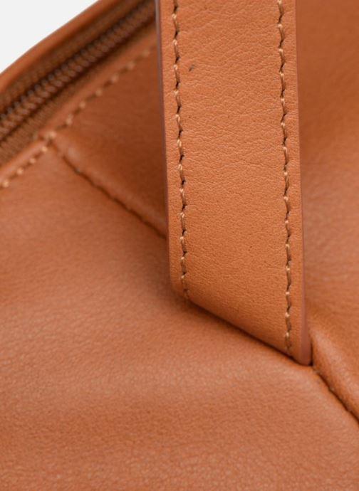 Handtaschen Sabrina Blandine braun ansicht von links