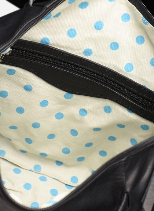 Handtassen Sabrina Blandine Zwart achterkant