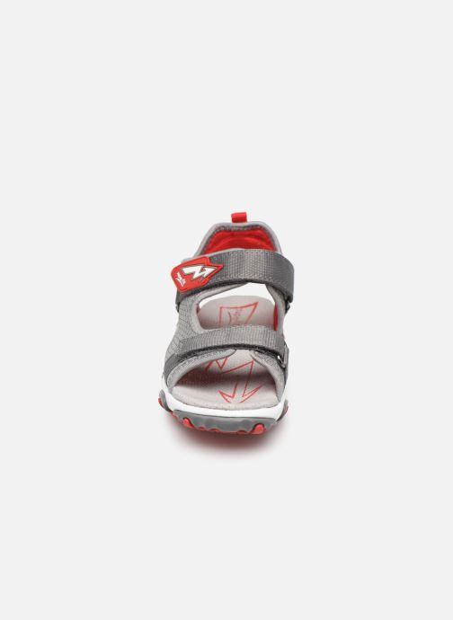 Sandales et nu-pieds Superfit Mike 4 Gris vue portées chaussures
