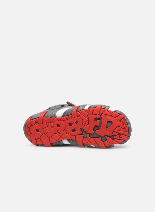 Sandales et nu-pieds Superfit Mike 4 Gris vue haut