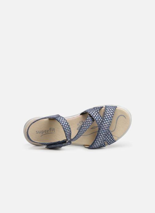 Sandales et nu-pieds Superfit Maya 2 Bleu vue gauche