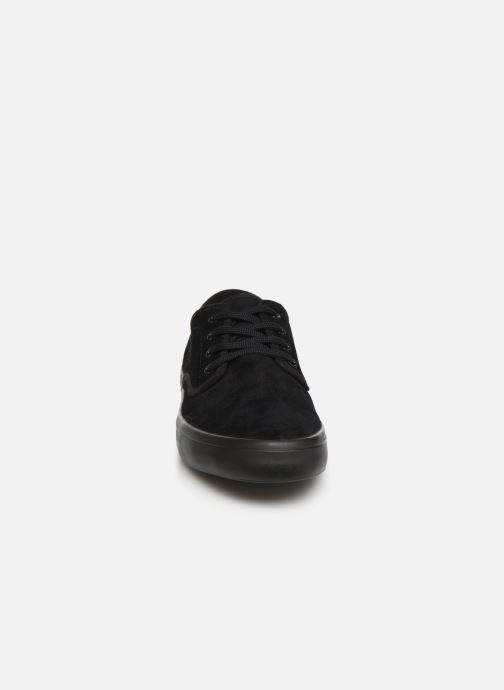 Baskets Fred Perry Merton Suede Noir vue portées chaussures