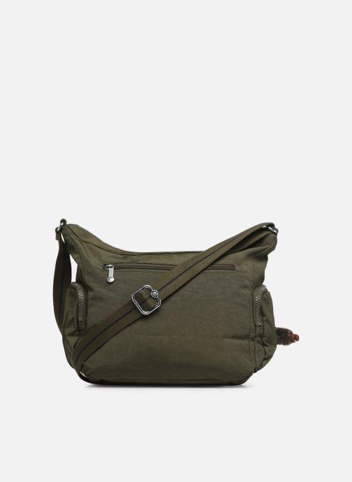 Handtaschen Kipling Gabie S grün ansicht von vorne