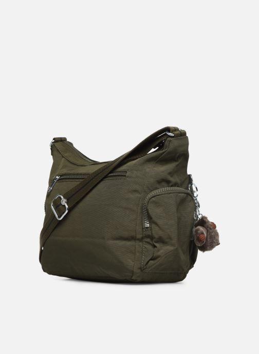 Handtaschen Kipling Gabie S grün ansicht von rechts